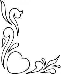coloring pages of heart photos of hearts and flowers clipart best 151096 coloring pages in