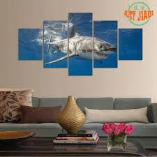 fish decorations for home compare prices on 5 piece wall art great wall online shopping buy