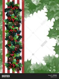 christmas holly border cheminee website
