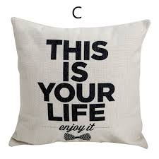 Decorative Pillow Sale May The Force Be With You Pillow Linen Decorative Pillows With