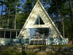 what is an a frame house how can bring this a frame lake house into 2013