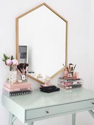 kate la vie dressing table vanity make up storage room tour i