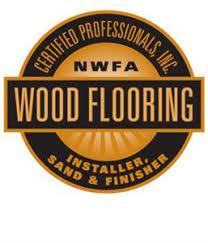 national wood flooring association certified installation sand