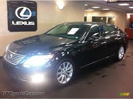 lexus awd sedan for sale 2011 lexus ls 460 l awd in obsidian black 003471 nysportscars