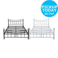 argos metal bed frames u0026 divan bases with headboard ebay