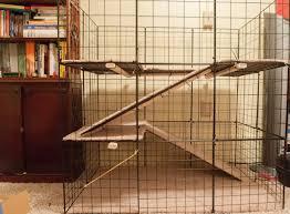 Rabbit Hutches For Indoors Door Large Indoor Rabbit Cage 71yquc6tial Sl1500 Marko Trolley