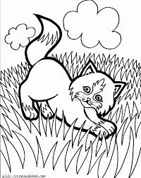 kittens coloring page free coloring pages on art coloring pages