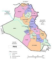 Map Iraq Electoral Assistance