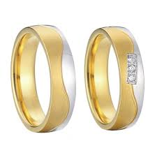 wedding bands design beautiful new design gold colour alliances anel engagement