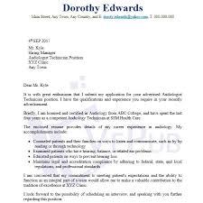 audiologist cover letter audiologist cover letter sample