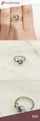 avery heart knot ring avery heart knot ring in size 6 heart knot knot rings and