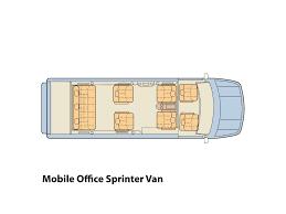 Class B Floor Plans by 2017 Midwest Automotive Designs Luxury Mobile Office Sprinter Van