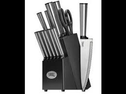 Ginsu Kitchen Knives Ginsu Koden 14 Stainless Steel Cutlery Knife Set Review
