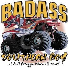 Rebel Mud Truck - vehicle t shirts