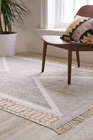 rug calisa block printed rug rugs casual trendy home decor