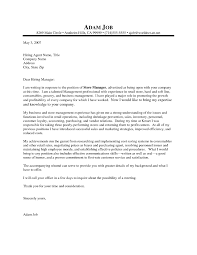 Cover Letter For Any Job Opening Internal Job Cover Letter