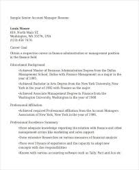 account manager resume examples lukex co