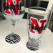 graduation wine glasses ku jayhawks wine glass glass gift from monogramrevolution on