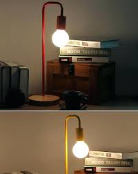 lighting for reading room l work table l modern color simple holder study room desk