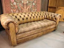 Leather Chesterfield Sofa For Sale Vintage Leather Furniture Jincan Me