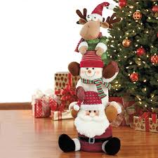 Costco Lighted Snowman by Plush 3ft 4