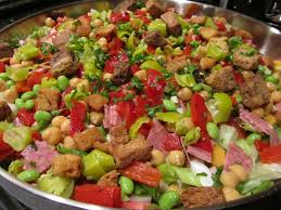 super everything but the kitchen sink salad tamara leigh the