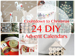 countdown to christmas 24 diy advent calendars family craft