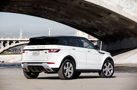 land rover rear 2015 land rover range rover evoque first test motor trend