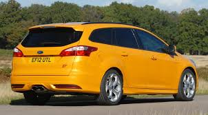 ford focus st yellow ford focus st estate mountune 2014 review by car magazine