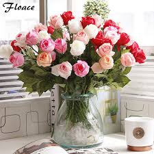 aliexpress com buy floace fresh rose artificial flowers real