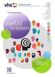 vhs ebersberg grafing frühjahr sommer 2016 by brand4 brandesign