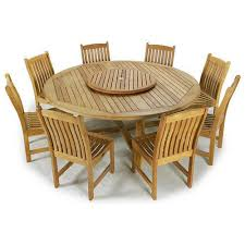Teak Wood Dining Tables Teak Wood Round Dining Table At Rs 80000 Set Sagvan Ki Dining