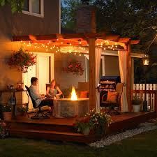 Outdoor Patio Lights Ideas 97 Best Patio Lights Images On Pinterest Backyard Patio Garden
