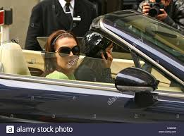 bentley london danielle lloyd arrives at a central london location in a bentley