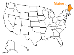 the us50 a guide to the state of maine geography