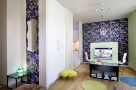 papier peint chambre ado design interieur deco chambre ado papier peint motif floral