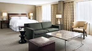 Living Room Vs Parlor Deluxe Guest Room Sheraton Centre Toronto Hotel