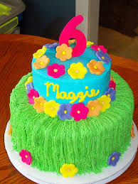 Luau Cake Decorations Luau Desserts Share Dessert Luau Parasol Pops And Rice Krispie