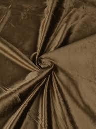brown solid blackout grommet velvet curtains 63 inch 96