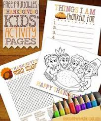 5 fun filled thankful thanksgiving printables kids free