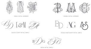 initial monograms customization aerialist press