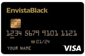 envista credit union envistablack visa credit card