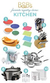 my wedding registry bsb s registry must haves kitchen the budget savvy
