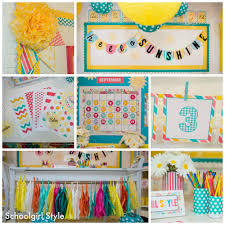 Classroom Decorations Pinterest by Sunshine Classroom Theme By Schoolgirl Style Classroom Decor