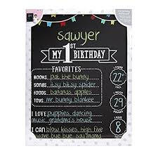 birthday chalkboard 1st birthday chalkboard
