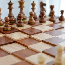 have to have it 3d tiered solid sapele wood chess set english