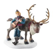 department 56 disney frozen kristoff serenading sven