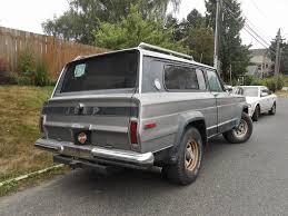 jeep cherokee grey seattle u0027s parked cars 1978 jeep cherokee
