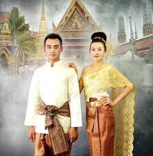 mariage en thailande thaïlande laos de mariage hommes et femmes vêtements collocation