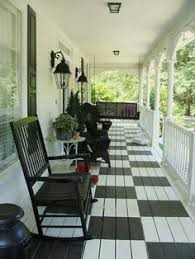 porch could paint the floor a charcoal gray for the home